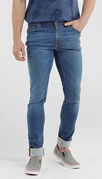 Синие джинсы Tramarossa зауженные, фото