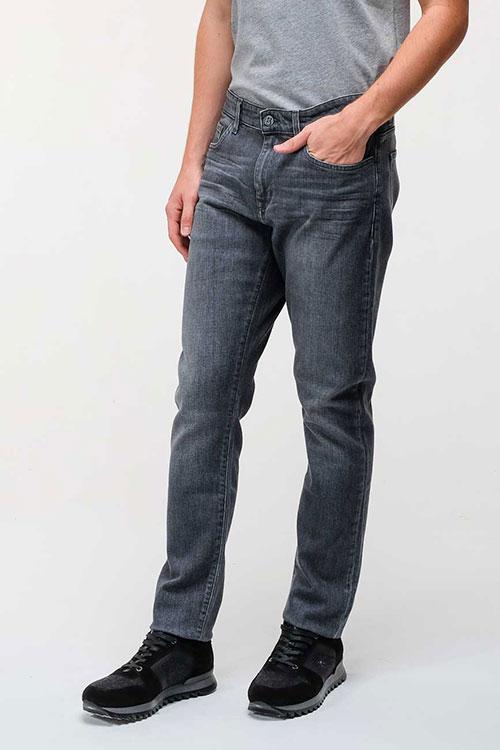 Серые зауженные джинсы Bogner, фото