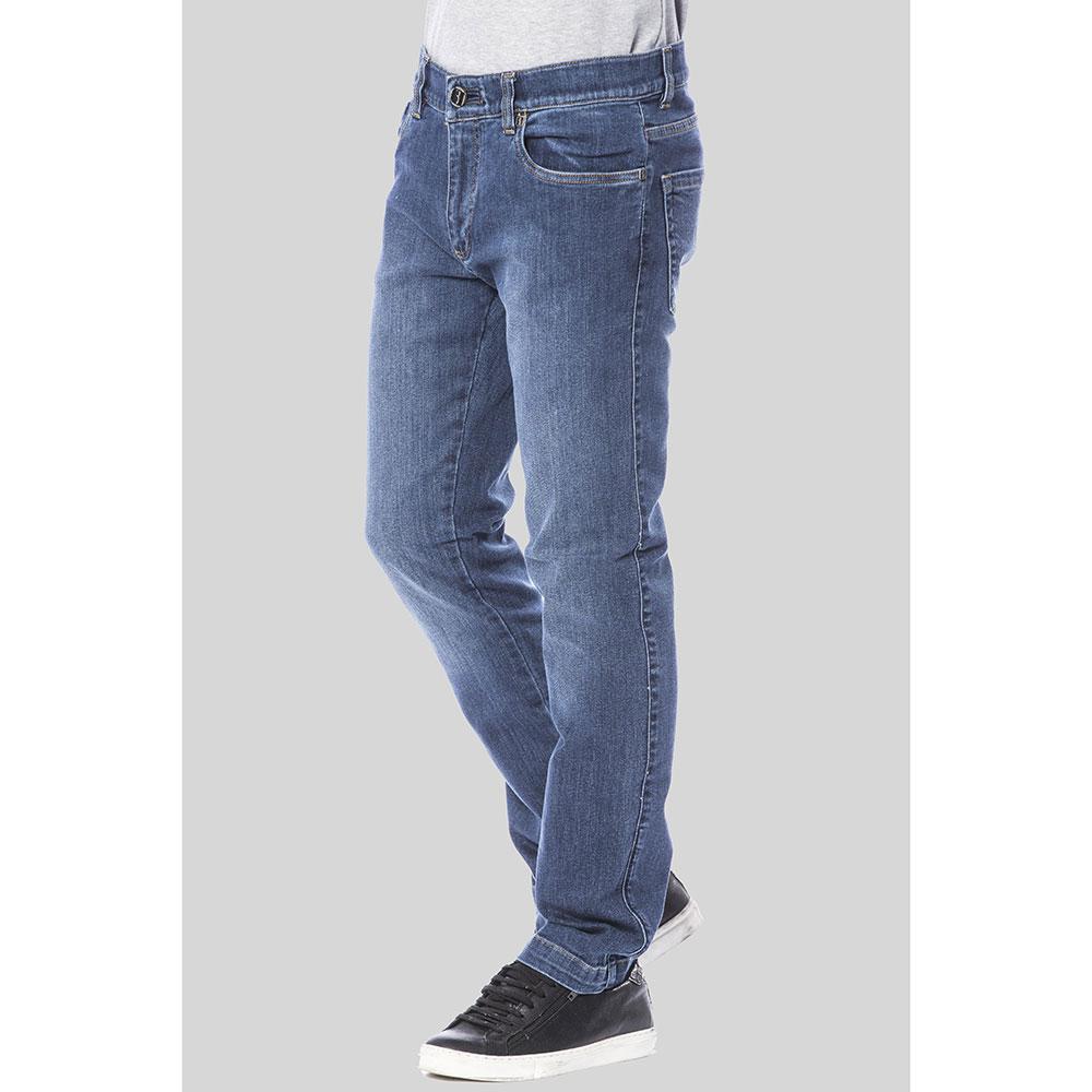 Синие джинсы Billionaire прямого кроя