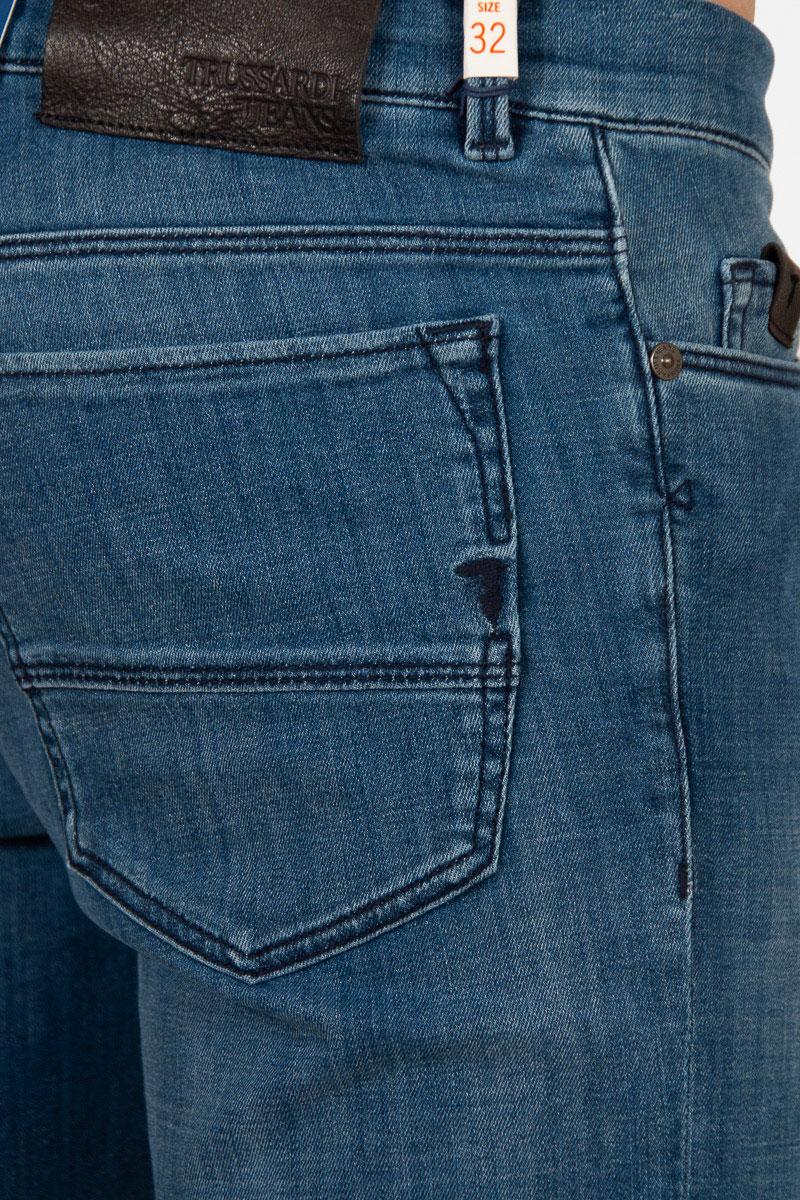 Джинсы-скинни Trussardi Jeans в синем цвете