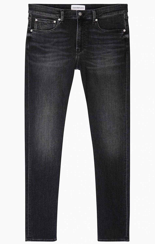 Джинсы-скинни Calvin Klein черного цвета
