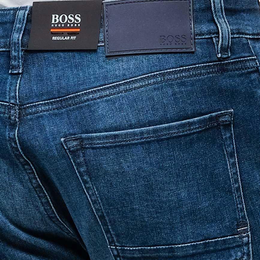 Джинсы Hugo Boss синего цвета