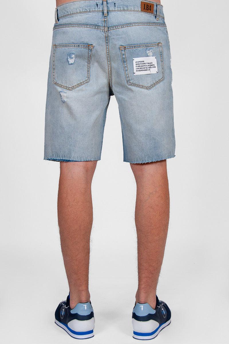 Джинсовые шорты J.B4 Just Before голубого цвета