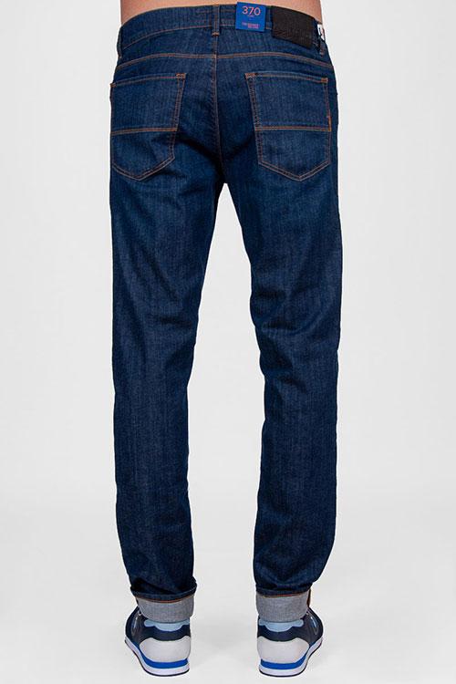 Мужские джинсы Trussardi Jeans синего цвета, фото