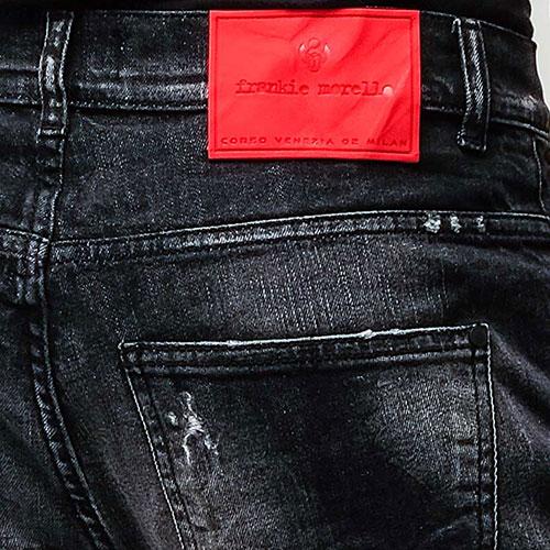 Джинсы Frankie Morello черного цвета, фото
