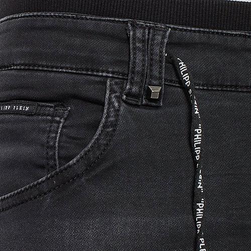 Джинсы-джоггеры Philipp Plein с эластичными манжетами, фото
