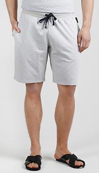 Серые шорты Emporio Armani с карманами, фото