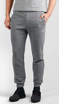 Серые спортивные брюки Roberto Cavalli с принтом, фото