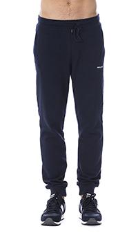 Спортивные брюки Roberto Cavalli синего цвета, фото