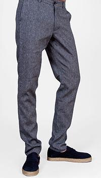Брюки Trussardi Jeans серого цвета, фото