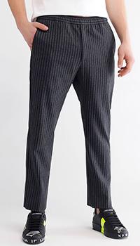 Повседневные брюки Gucci в полоску, фото