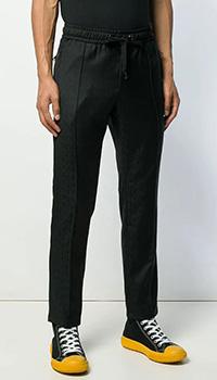 Шерстяные брюки Dolce&Gabbana с карманами на молнии, фото