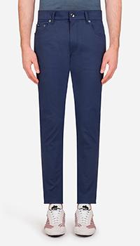 Хлопковые брюки Dolce&Gabbana Lusso, фото