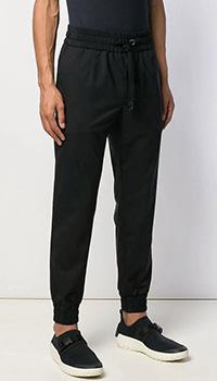 Спортивные брюки Dolce&Gabbana черного цвета, фото