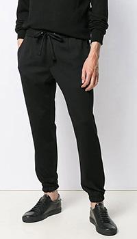 Черные брюки Dolce&Gabbana с эластичными манжетами, фото
