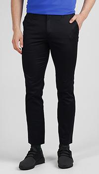 Укороченные брюки Ea7 Emporio Armani черного цвета, фото