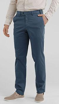 Мужские брюки Hiltl синего цвета, фото