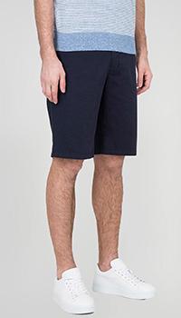 Синие шорты Bogner с карманами, фото