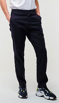 Мужские классические брюки Bogner с поясом на резинке, фото