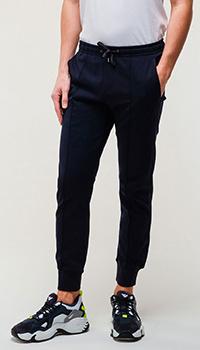 Мужские спортивные брюки Emporio Armani синие, фото