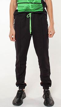 Спортивные брюки Frankie Morello с карманами на молнии, фото