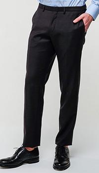 Укороченные брюки Hugo Boss черного цвета, фото