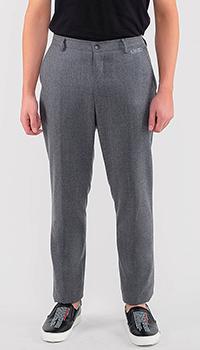 Серые брюки Kenzo прямого кроя, фото