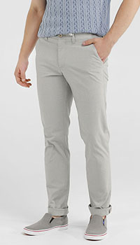 Прямые брюки MAC серого цвета, фото