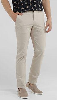 Повседневные брюки MAC бежевого цвета, фото