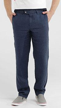 Повседневные брюки Hiltl синего цвета, фото