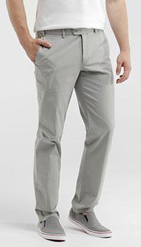 Серые брюки Hiltl в мелкую клетку, фото