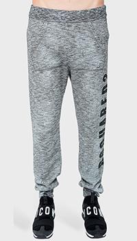 Спортивные брюки Dsquared2 с эффектом капель краски, фото