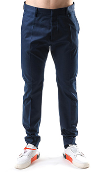 Синие брюки Dsquared2 со стрелками, фото