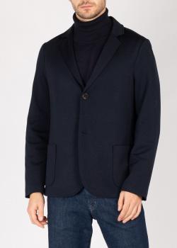 Пиджак Maerz из темно-синей шерсти, фото