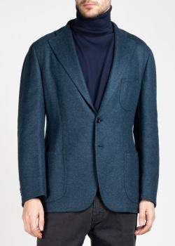 Кашемировый пиджак Cesare Attolini с накладными карманами, фото