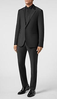 Мужской костюм Philipp Plein черного цвета, фото