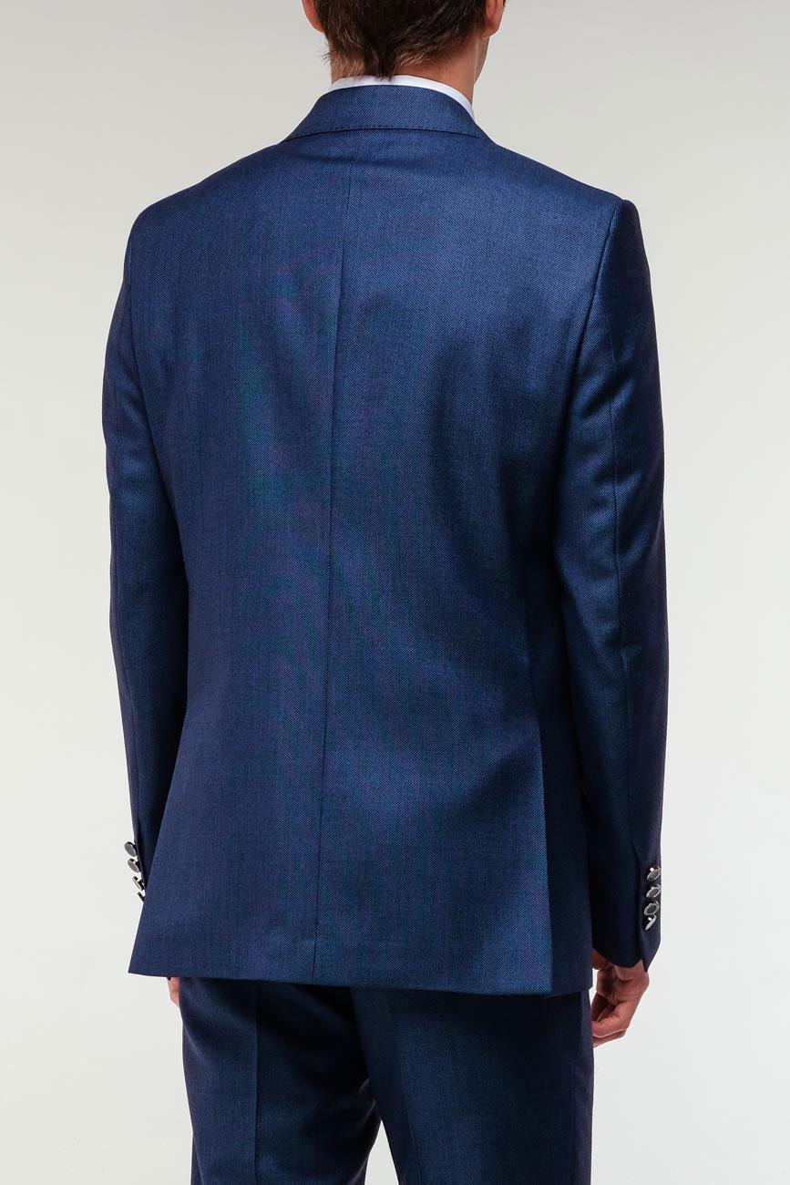 Синий пиджак Billionaire из шерсти
