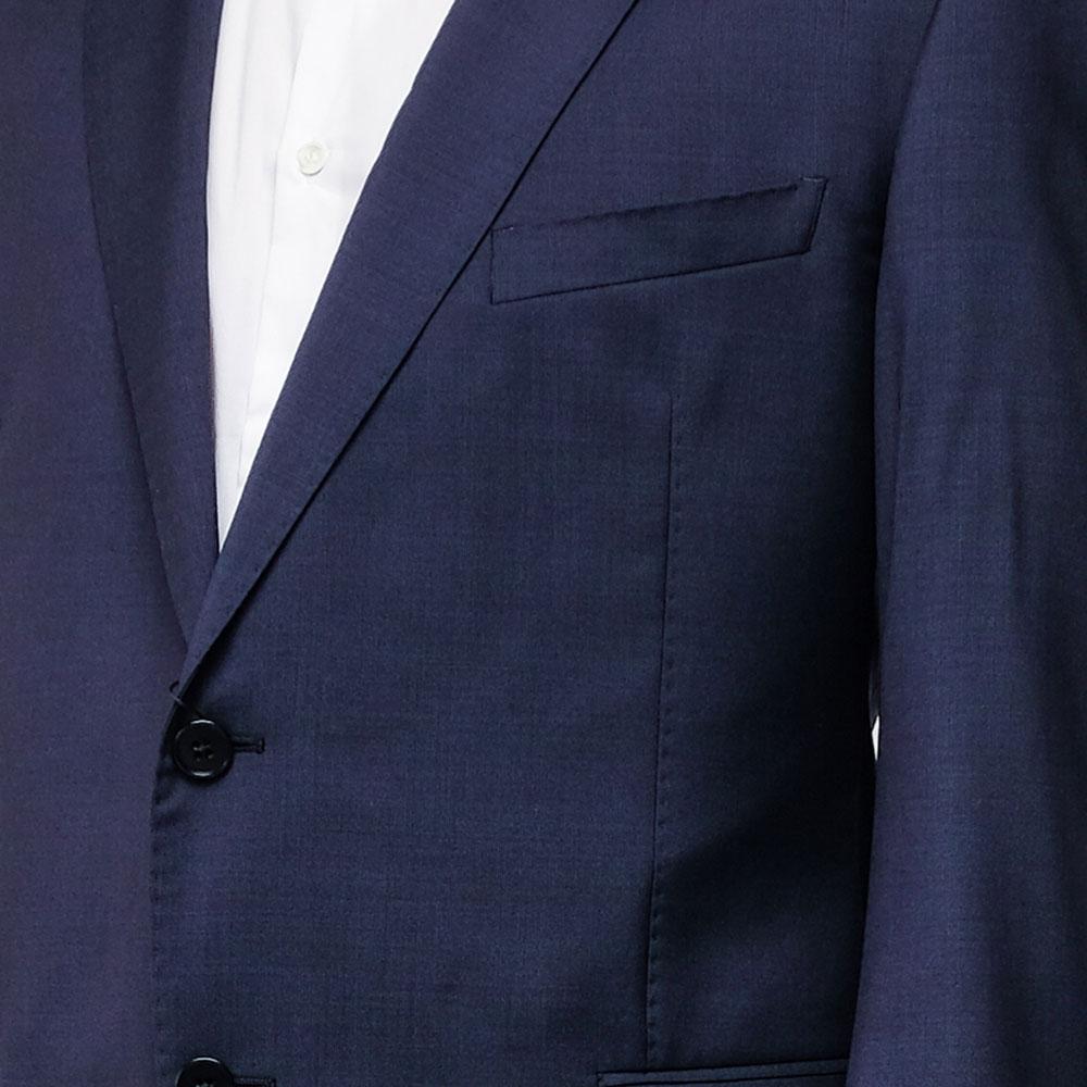 Костюм Emporio Armani из шерсти темно-синий