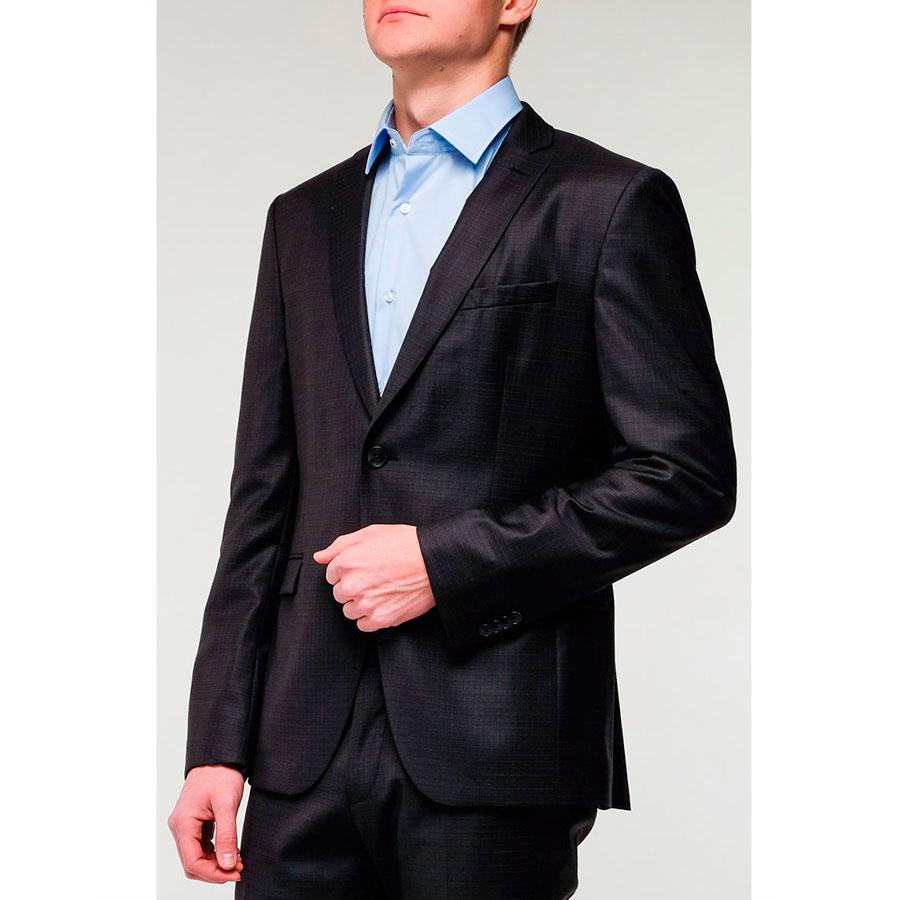 Мужской пиджак Hugo Boss черного цвета