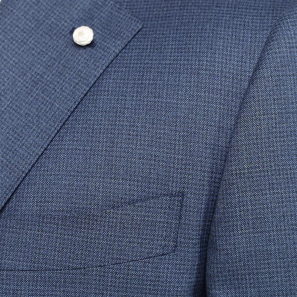 Костюм Lubiam из шерсти синего цвета