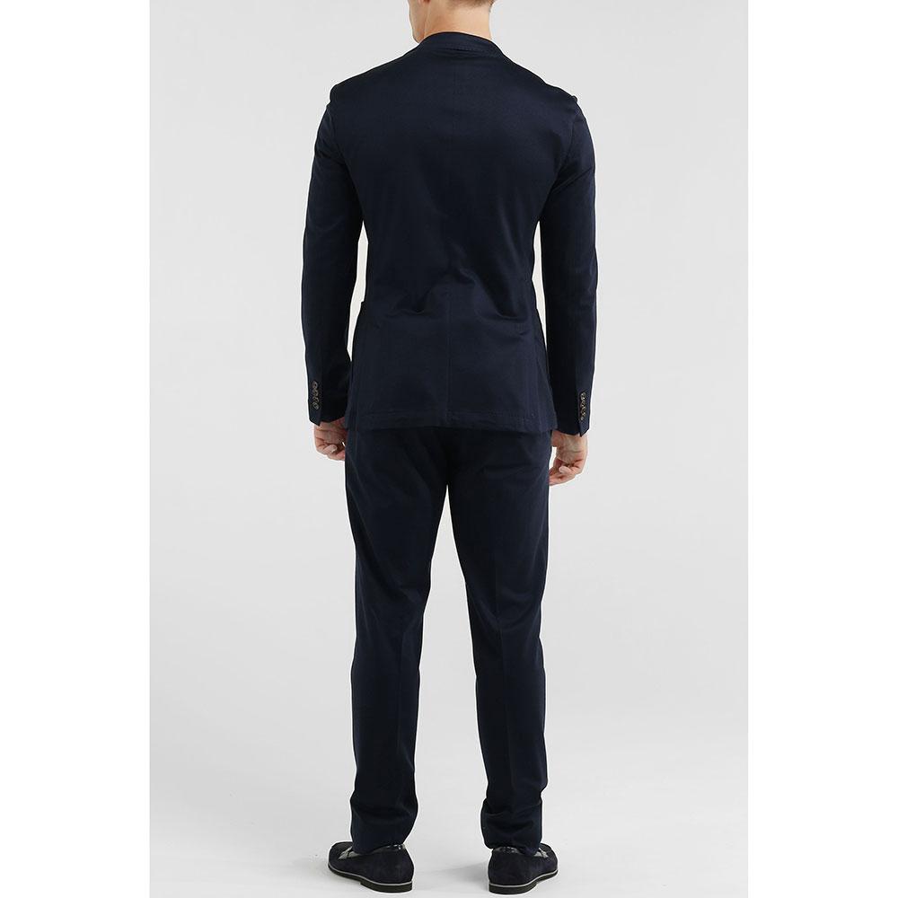 Брючный костюм Eleventy синего цвета