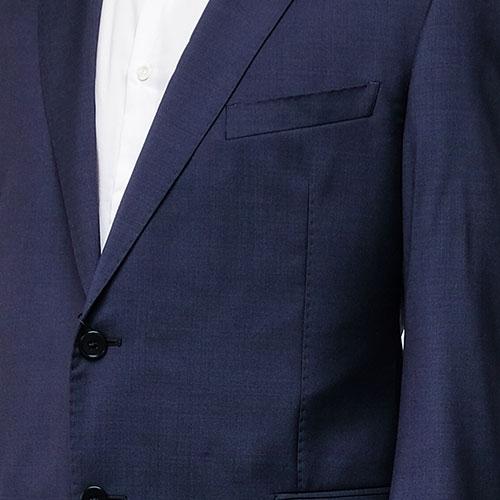 Костюм Emporio Armani из шерсти темно-синий, фото
