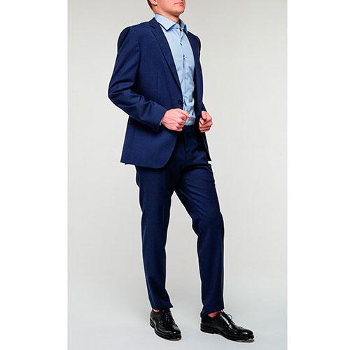 Синий пиджак Hugo Boss на две пуговицы, фото