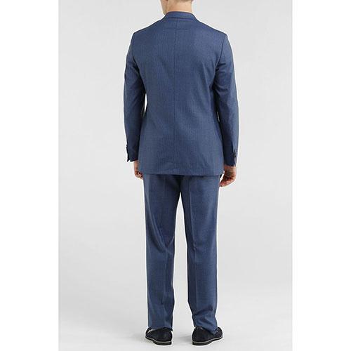 Костюм Lubiam из шерсти синего цвета, фото