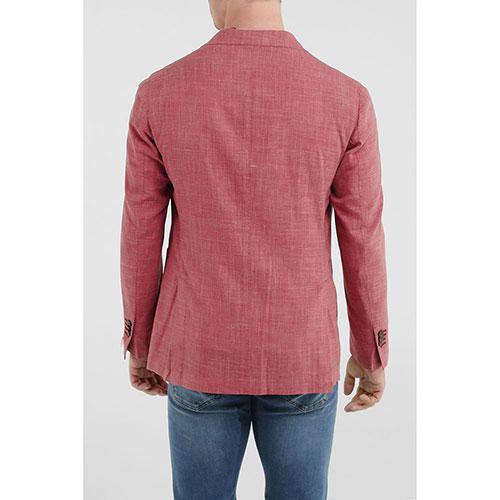 Пиджак Lubiam оранжевого цвета на две пуговицы, фото