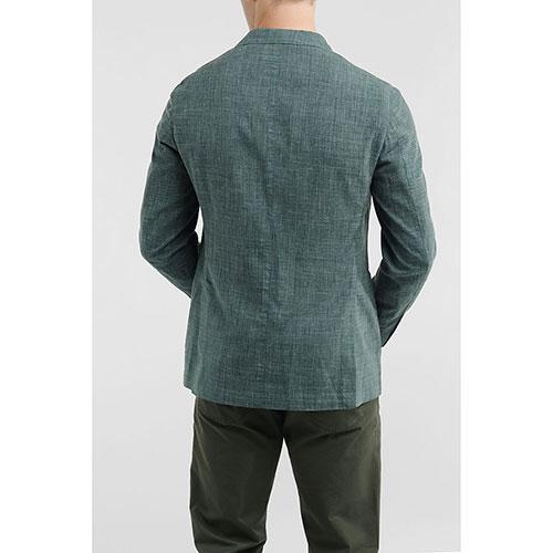 Зеленый пиджак Lubiam с длинным рукавом, фото