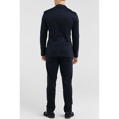 Брючный костюм Eleventy синего цвета, фото