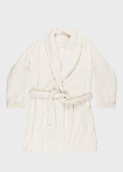 Халат La Perla Home Petite Maison белого цвета, фото