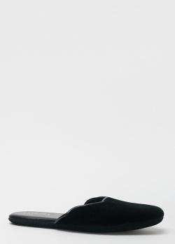 Домашние тапки La Perla Home Set Impianto Tacco черного цвета, фото