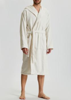 Мужской халат La Perla Home Adone Accappatoio белого цвета, фото